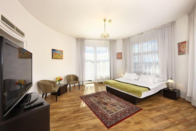 Hotel Vitkov Prag Zimmer