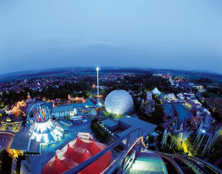 Der Europa-Park ist der meistbesuchte Freizeitpark Deutschlands