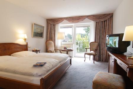 EIn Blick in die eleganten Zimmer des Hotels König-Stuben