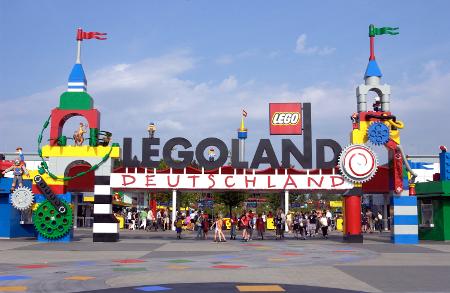 Im LEGOLAND® ist (fast) alles aus LEGO®-Steinen gebaut