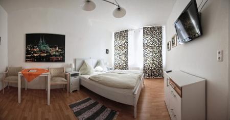 Hell und gemütlich: Die Zimmer des Hotels Balthasar Neumann