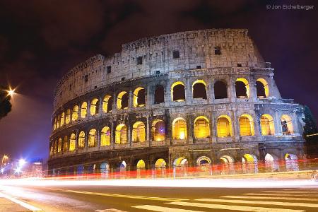 Das berühmte Kolosseum.