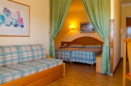 Zimmeransicht des Hotels Edén, Mallorca