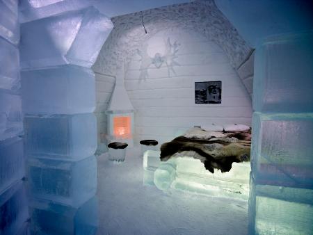 Icehotel  (Jukkasjärvi, Schweden)
