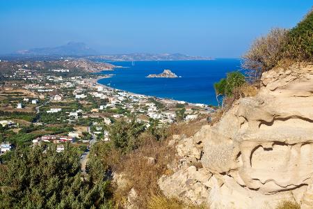 Platz 2 von den günstigen Reisezielen belegt Kefalos (Kos).