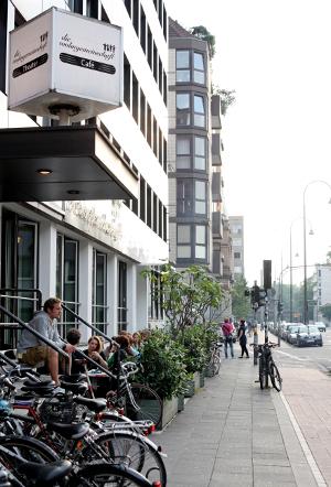 Die Außenansicht der Kölner Wohngemeinschaft.