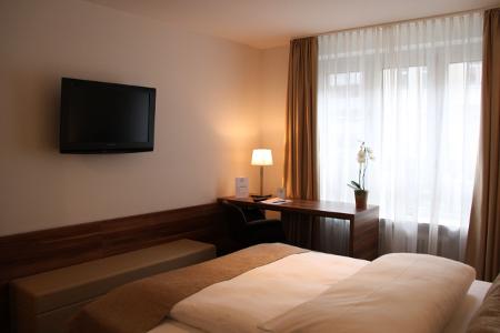 Blick in eines der Zimmer des Vi Vadi Hotels.