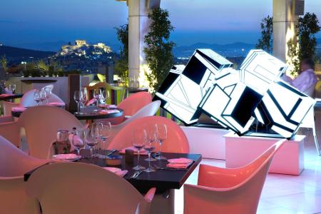 Galaxy Restaurant & Bar im Hilton Athen