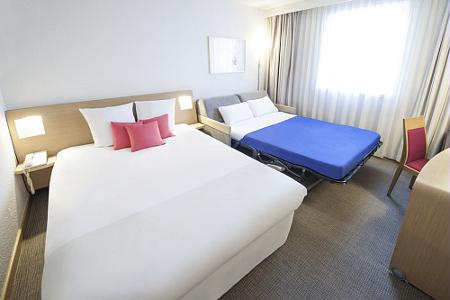 Doppelzimmer im Hotel Novotel Lyon Gerland
