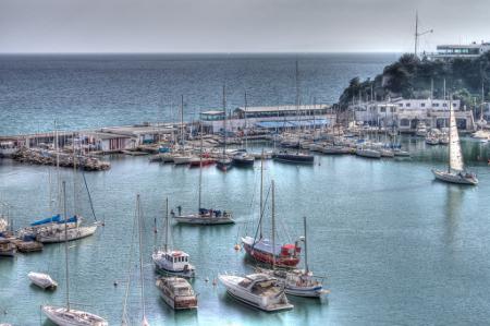 Piräus -der größte Hafen von Griecheland.