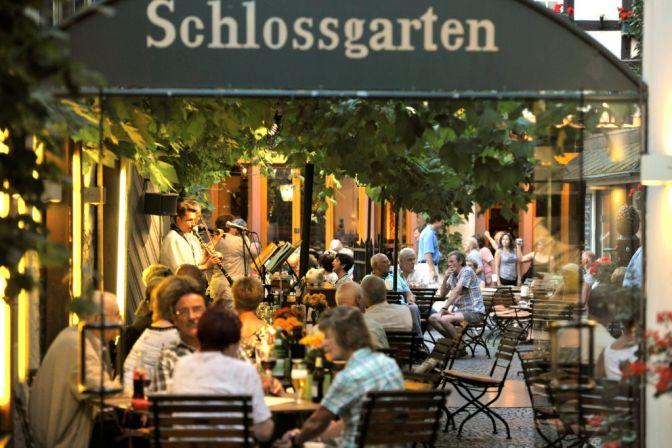 Hotel Breuer's Rüdesheimer Schloss Schlossgarten