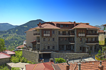 Eco- und Design Hotel Aroma Dryos