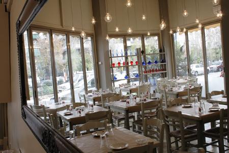 Eines der Cafés im Gazi Viertel.