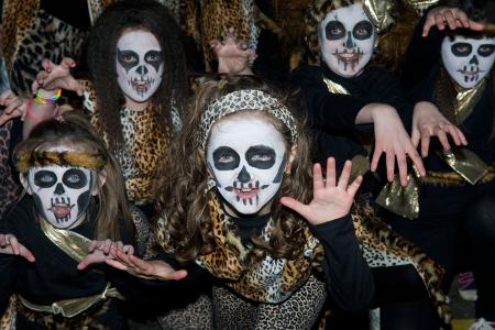 Halloween-Parade in Derry.