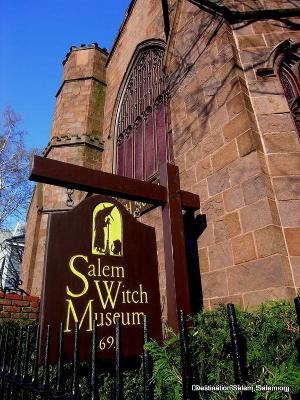Museum von Salem in Massachusetts
