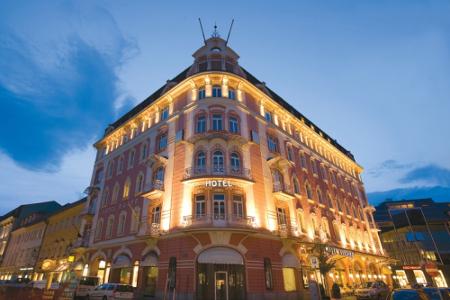 Das Hotel Arcotel Moser Verdino Klagefurt