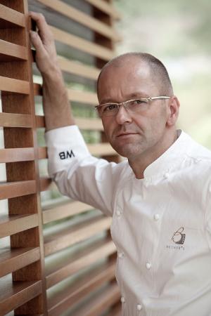 Im Gourmetrestaurant Becker's bietet der Zwei-Sterne-Koch Wolfgang Becker Kochkunst auf höchstem Niveau.