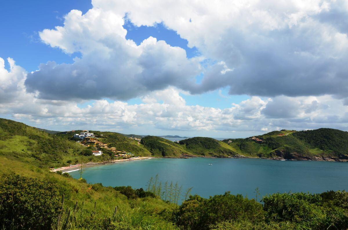 Atlantik-Halbinsel Búzios Brasilien