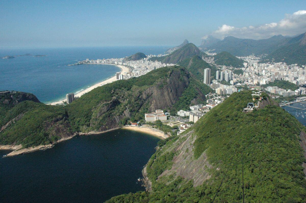 Pão de Açucar Zuckerhut Rio de Janeiro Brasilien