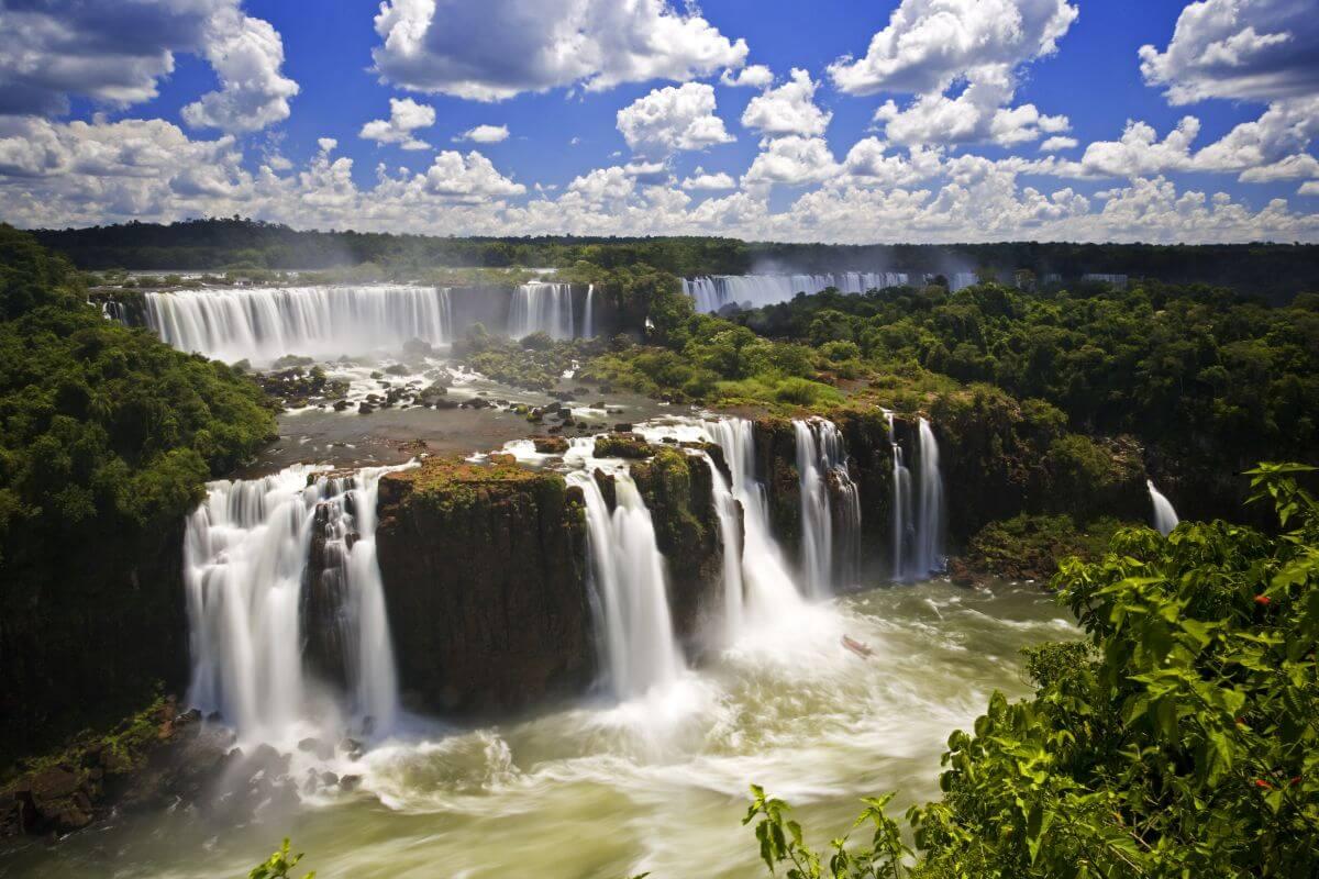 Wasserfall Paraná Iguaçu Falls Brasilien