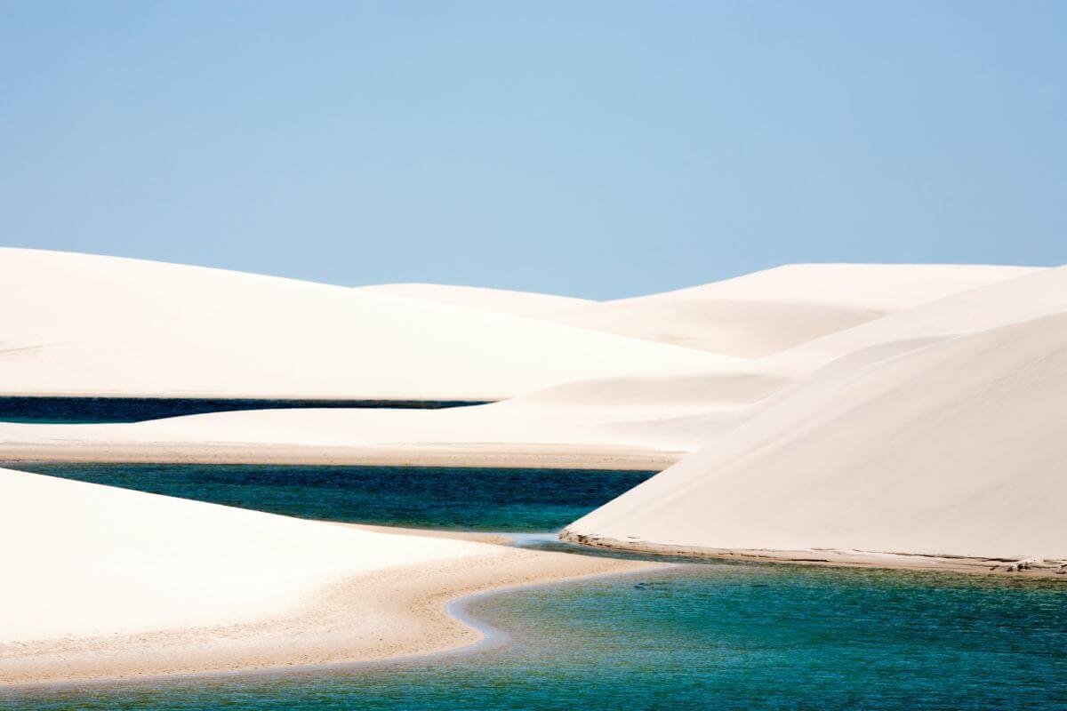 "Nationalpark ""Lençios Maranhenses"" Dünenwüste Nordküste Brasilien"