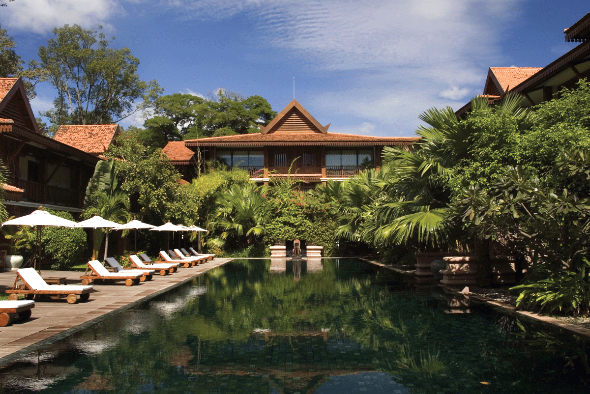 La-Residence-d-Angkor Poolbereich