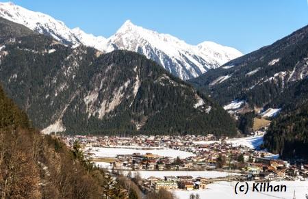 Mayrhofen in Österreich.