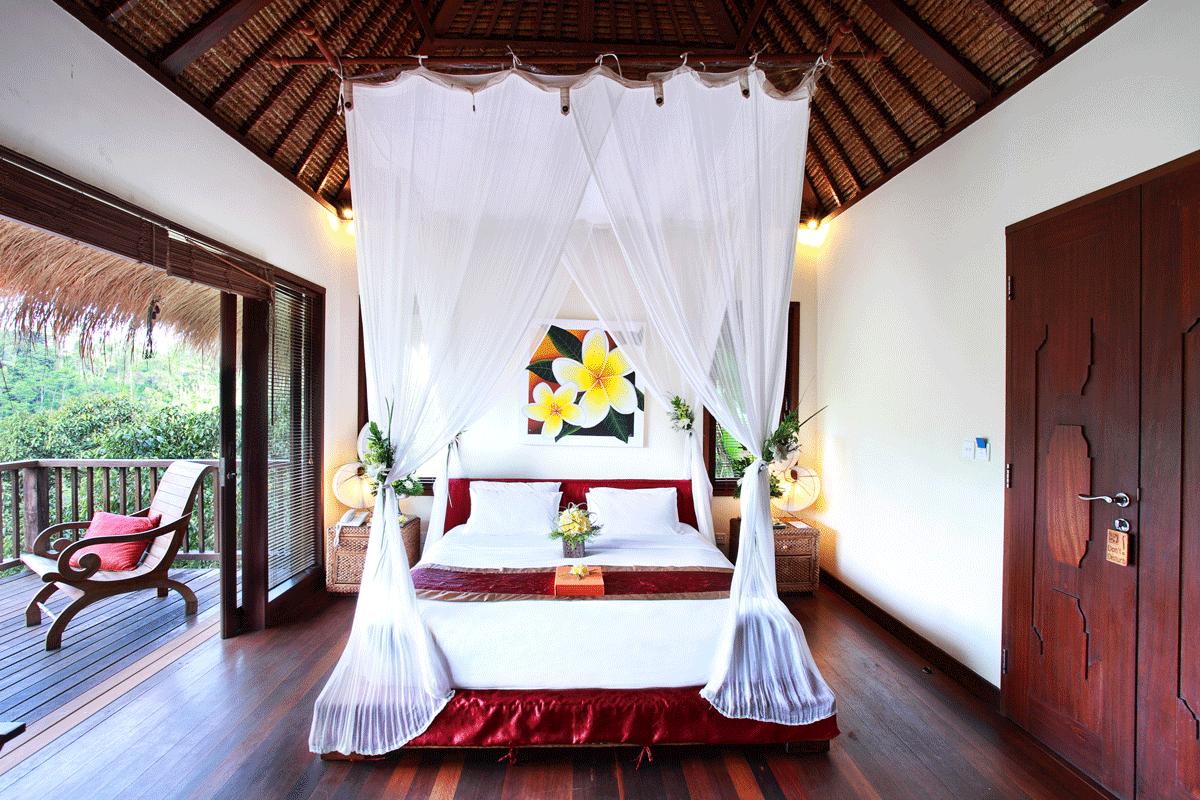 Nandini Bali Jungle Resort & Spa Balibetten