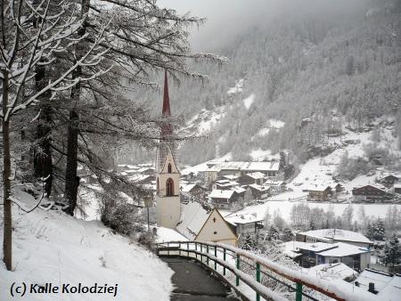 Sölden in Österreich.