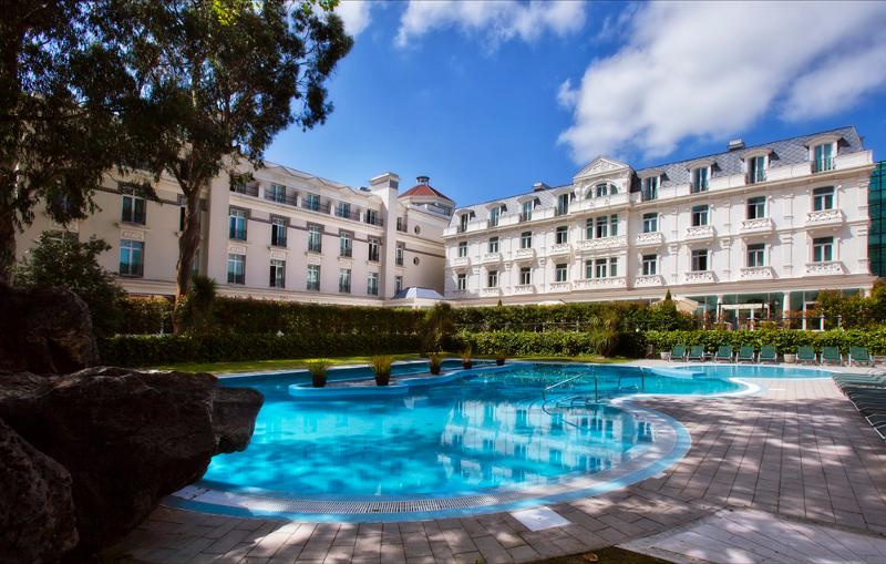 Hotel Balneario Solares in Spanien.