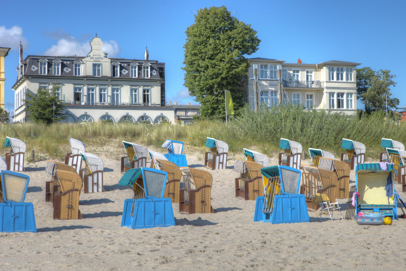 Romantik Strandhotel Atlantic im Ostseebad Heringsdorf