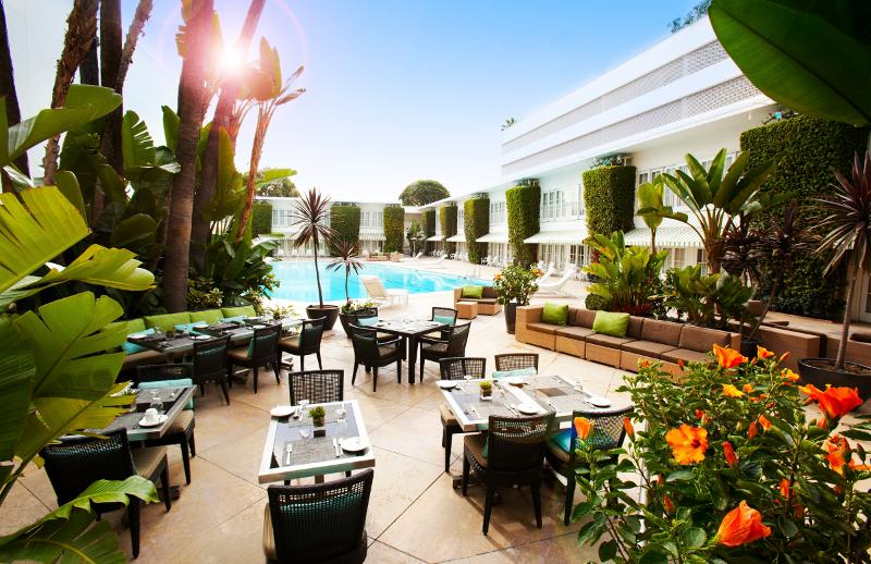 Argo - Die Außenanlage des Beverly Hilton