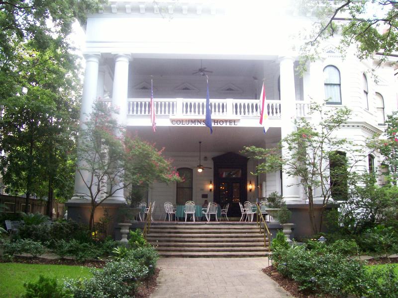 12 Years a Slave - Die Außenansicht des Columns Hotels