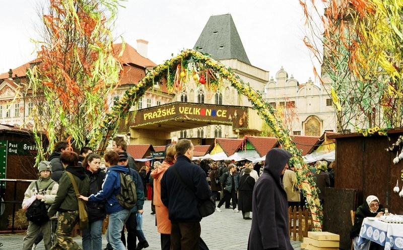 Der Ostermarkt in der Prager Altstadt