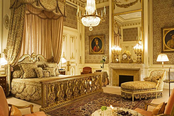Zimmeransicht des Pariser Ritz