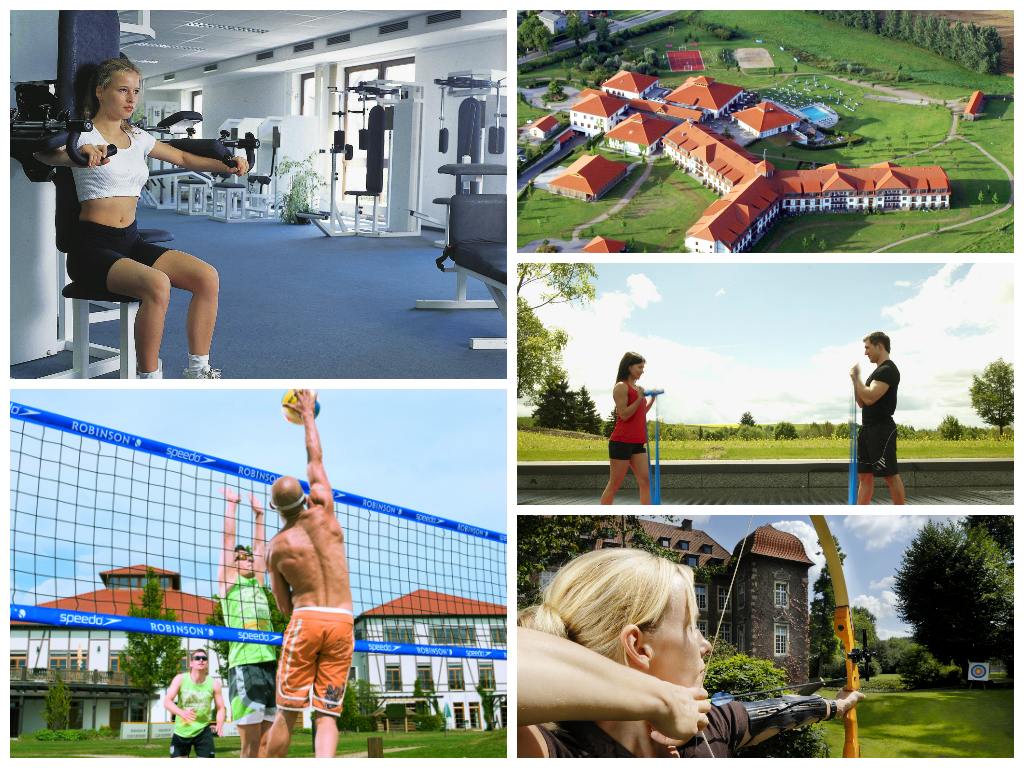 Sport-Hotel-Kollage