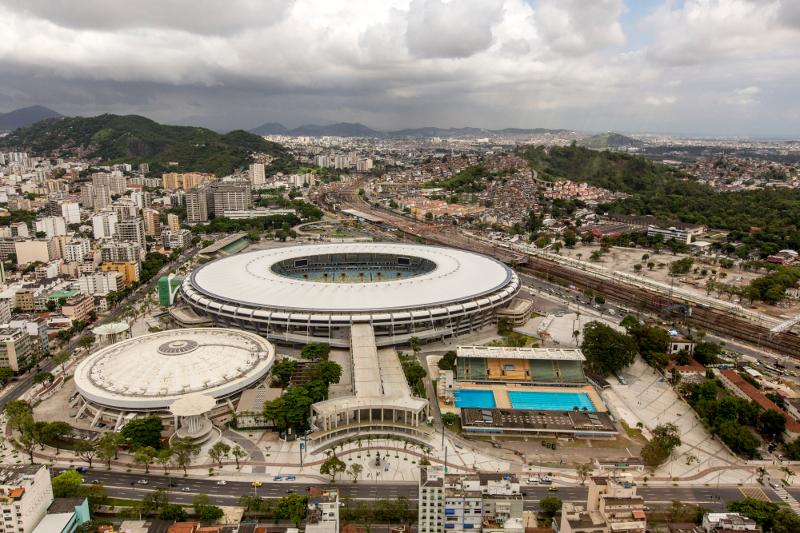 Arena Maracana in Rio de Janeiro in Brasilien.