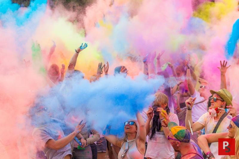 Holi Festival der Farben in Bochum