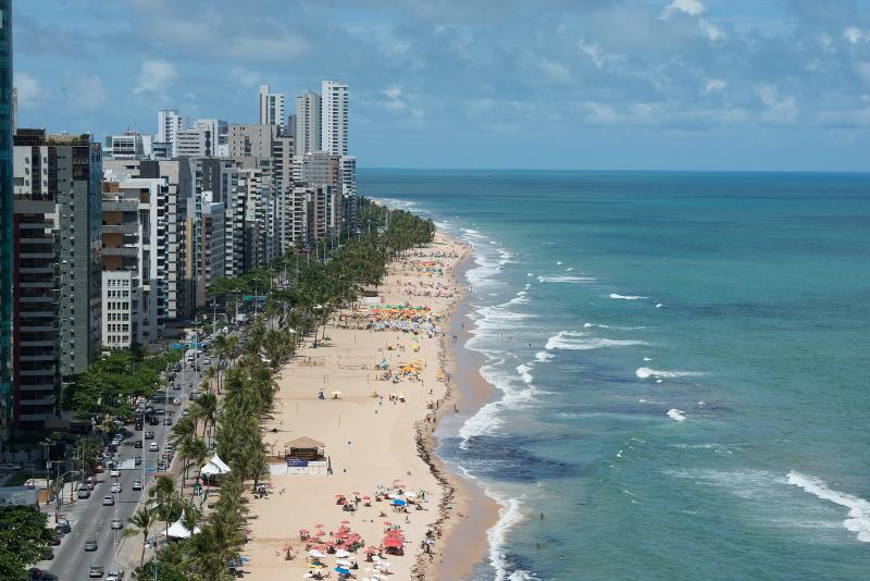Der Strand von Recife