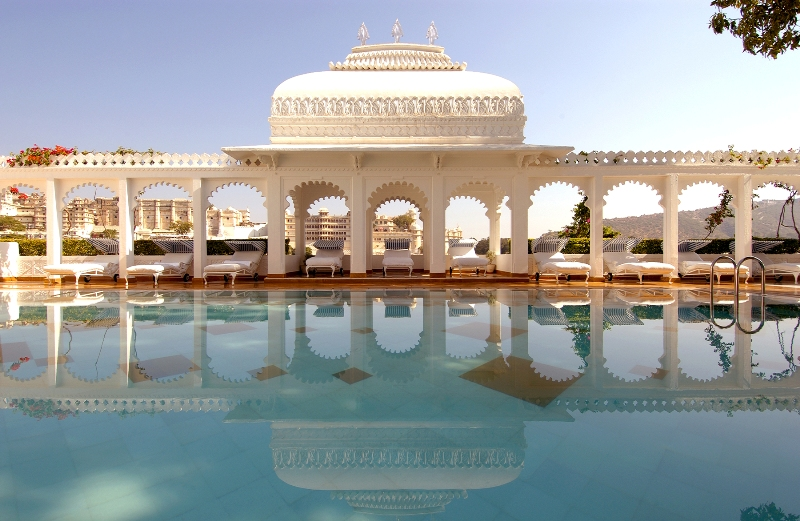 Hotel Taj Lake Palace in Indien