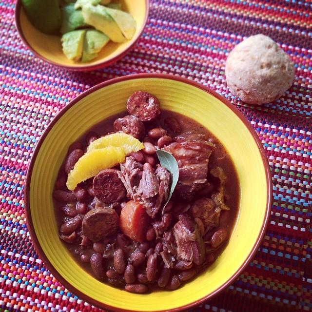 Brasilianisches Essen.