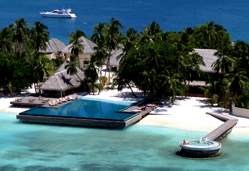 Hotel Huvafen Fushi (Nord Malé Atoll, Malediven)