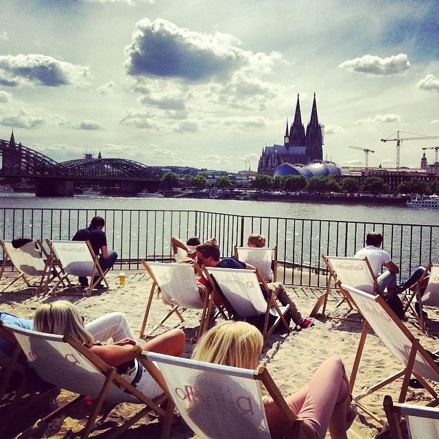 Rheinterrassen in Köln