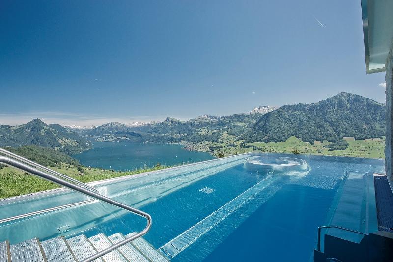 Hotel Villa Honegg in der Schweiz