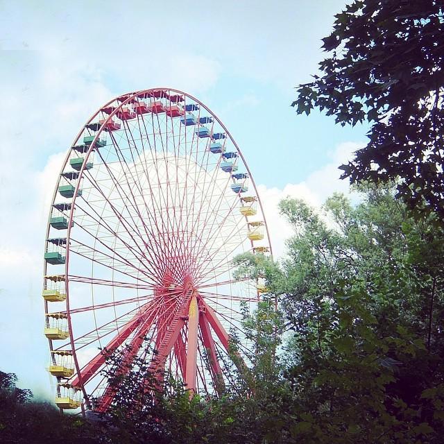 Riesenrad im Spree Park