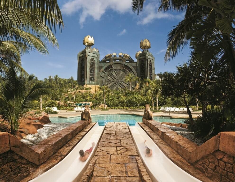 Hotel The Reef Atlantis Wasserrutschen