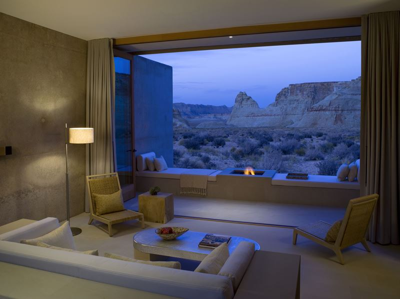 Hotel Amangiri in Big Water USA