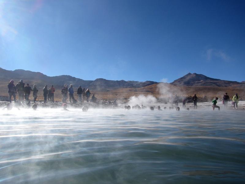 Chilenischer natürlicher Whirlpool