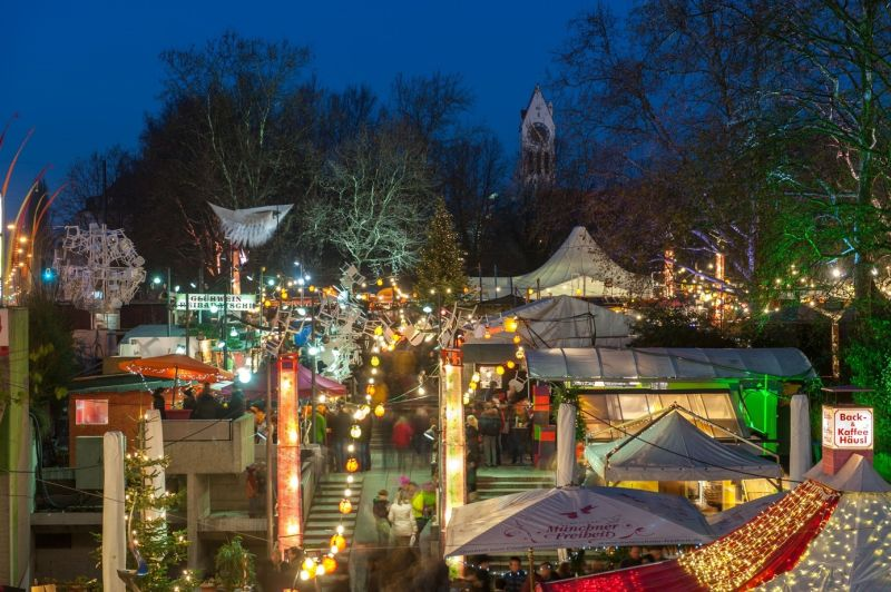Weihnachtsmarkt Schwabing München