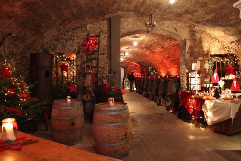 Wein-Weihnachtsmarkt an der Mosel